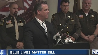 Blue lives matter bill - Video