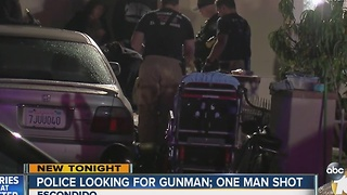Police looking for gunman - Video