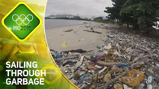 Rio 2016: Sailing through garbage at the Olympics - Video