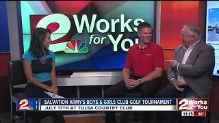 Salvation Army hosts Boys and Girls Club golf tournament - Video