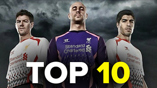 Top 10 Worst Premier League Kits - Video