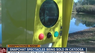 Snapchat Spectacles sold in Catoosa - Video