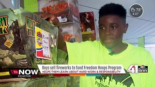 KCK boys learning work skills on Independence Day - Video