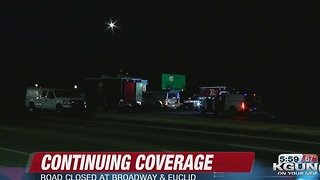 TPD responding to suspicious item near Broadway and Euclid - Video