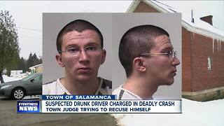 Driver charged in deaths of Salamanca couple