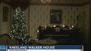 Historic Wauwatosa home dressed up for the holidays - Video