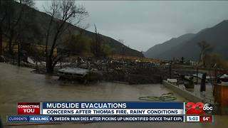 Ojai residents prepare to be trapped by mudslides - Video
