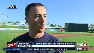 Minnesota Twins spring training home opener preview - Video