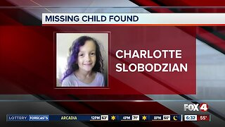 Missing Child Alert canceled for Fort Myers girl after she is found