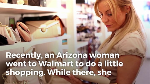 Woman Buys Purse from Walmart. Opens Zipper to Find Letter Hidden Inside. Heart Drops to Stomach