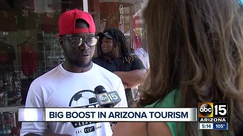 World soccer event brings tourism boost to Arizona