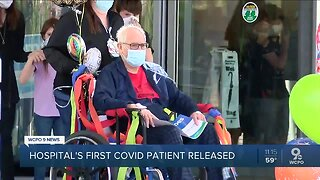 COVID-19 patient released after 7 weeks in the hospital