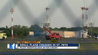 Plane crash in Clearwater - Video
