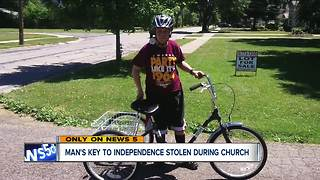 Oberlin man with Down Syndrome has new custom bike stolen - Video