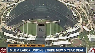 MLB players, owners reach tentative labor deal - Video