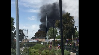 Fire Breaks Out After Explosion at Adelaide Substation - Video