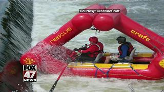 Water rescue demonstration set for today - Video