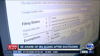 Beware of IRS scams - Video