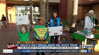Special needs Girl Scout troop in Southern Nevada - Video