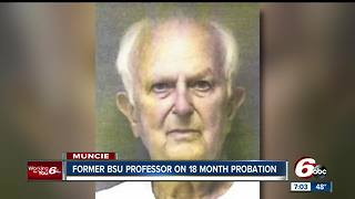 Former Ball State University professor placed on probation - Video