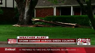 Severe weather rocks Green Country