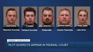 Plot suspects appear in federal court