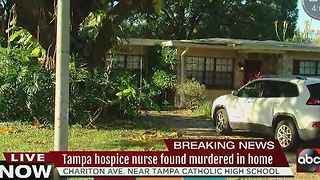 Tampa man murdered in his home; police searching for car - Video
