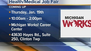 Workers Wanted: Health/Medical job fair - Video