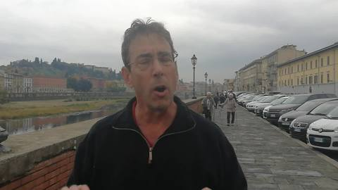 Clark in Florence