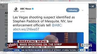 Las Vegas shooting suspect identified - Video