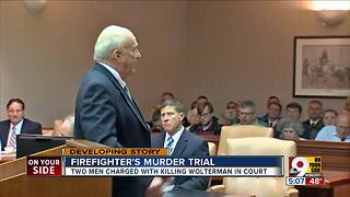 Prosecutor details plot in firefighter's death - Video