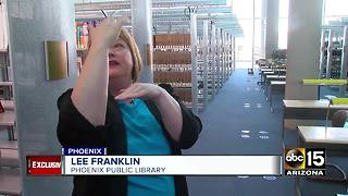 Renovations coming along at Burton Barr library in Phoenix - Video