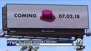 Mystery Billboard Revealed