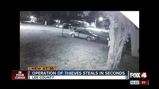 CAUGHT ON VIDEO: Thieves break in cars in seconds