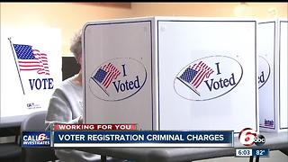 Voter registration investigation leads to falsification charges against group, 12 employees - Video