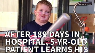 After 189 Days In Hospital, 5-yr-old  Patient's Dream Comes True - Video