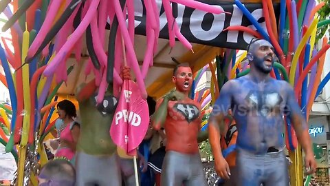 Thousands march through Thessaloniki for Pride celebration