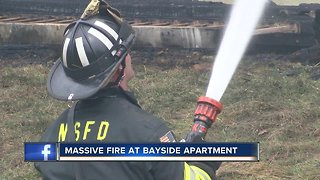 Bayside Apartment Fire