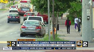 Speed cameras start Monday - Video