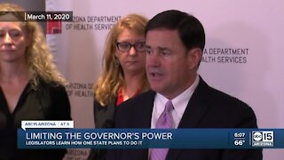 Some AZ legislators weighing options to try and limit the governor's emergency powers