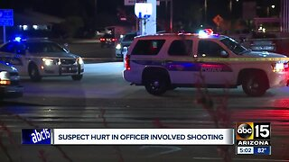 Suspect in critical condition after officer involved shooting in Phoenix