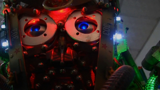 Homemade Chinese Humanoid - Video