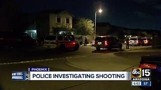 Shooting investigation underway in south Phoenix - Video