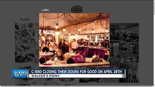 C. 1880 restaurant in Walker's Point to close - Video