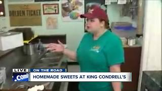Crafting sundaes at Kenmore's King Condrell's - Video