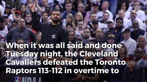 Watch: Rapper Drake Sparks Altercation with Cavs After OT Thriller