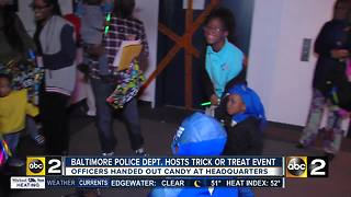 Baltimore Police host 2nd annual Halloween Gathering - Video