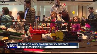 Students explore Science and Engineering Festival at BSU - Video