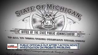 Public officials out after 7 Action News investigation into probate problems - Video