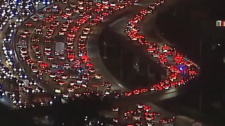 [fb] Here's What Traffic Looks Like Leaving LA Before Thanksgiving - Video